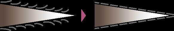 Cuticle correction image