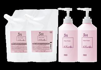 Lefalde Outer Cream S / H Hair Treatment / 3rd step