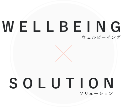 WELLBEING × SOLUTION